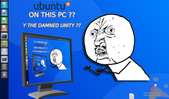 Y U INSTALL UBUNTU ON THIS PC? Y DAMNED UNITY?