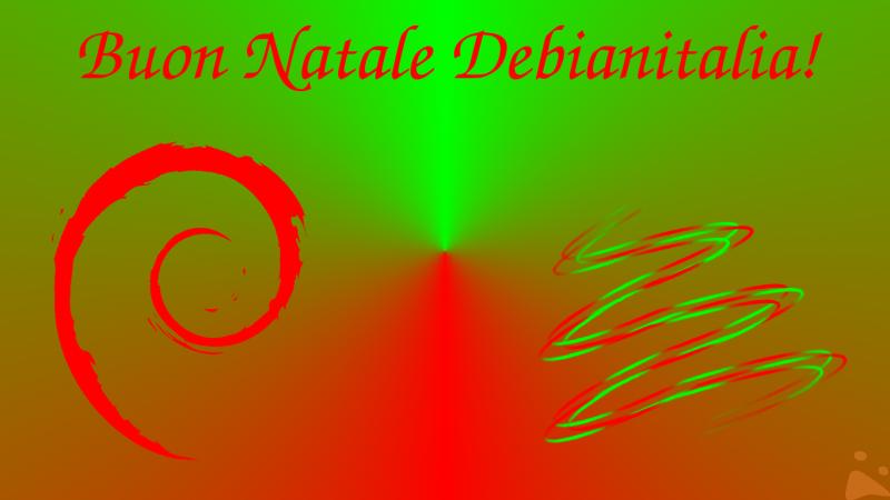 Buon Natale Debianitalia!